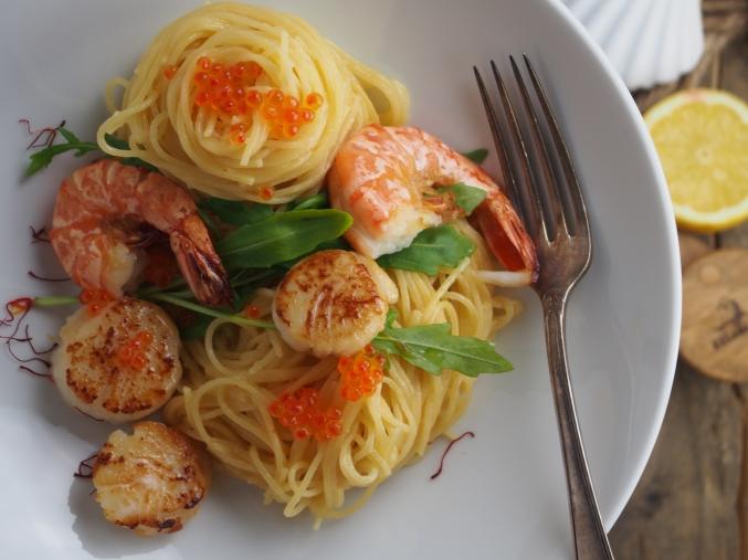Pasta mit Seafood